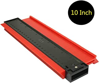 Inkesky 10 Inch Contour Profile Gauge - Shape Duplicator - Precisely Copy Irregular Shapes For Perfect Fit And Easy Cutting