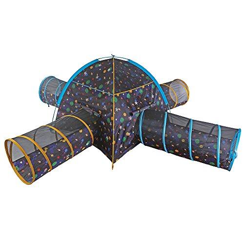 Kids Galaxy Tent & 4 Tunnel Combo