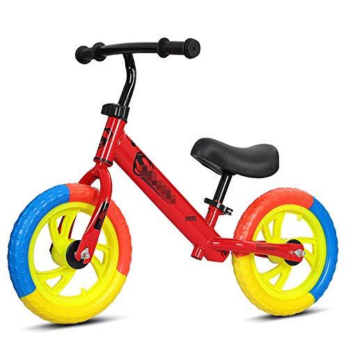YSCYLY Lauffahrrad,Scooter Balancer Mit Einstellbarer Sattelhöhe,No Pedal Balance Training Fahrrad
