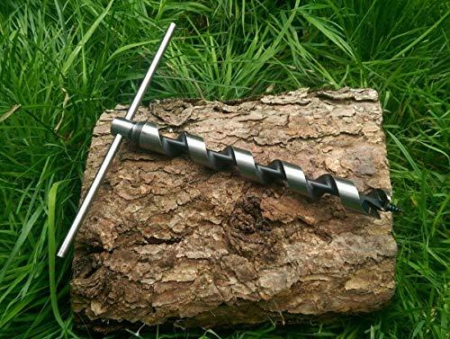 XL-T-Schlangenbohrer, Scotch Eyed, für Poly-Seil, Überlebenstraining & Survival-Fallenjagd