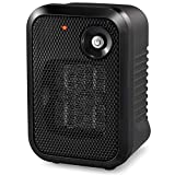 HOME_CHOICE 500 Watt Mini Personal Ceramic Space Heater Electric Portable Heater Quiet for Home Dorm...