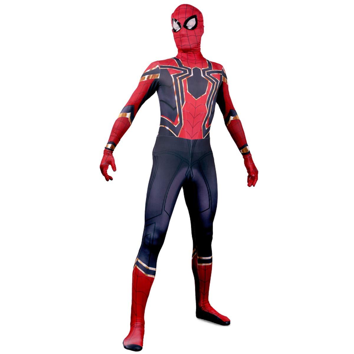 unbrand Niños Hombres Niños Superhéroe Spiderman Traje de Cosplay ...