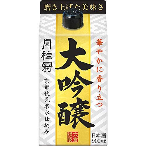 【華やかな香り/コスパ◎】月桂冠大吟醸パック[日本酒京都府900ml]
