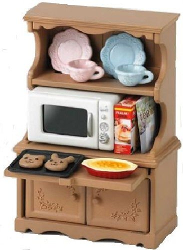 Sylvanian Families meubels kast oven magnetron verdeeld over -413 (japan import)