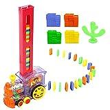 Juguetes para Trenes de niños, Tren Educativo para niños Juguetes educativos para Trenes de dominó Conjunto de Juegos Familiares interesantes