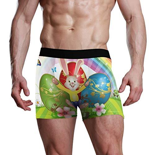Winne Bag Herren Boxer Boxershort Bequeme Unterhose Unterwäsche Hase und Eier XL