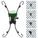 SOUCOR Net/Fence Mount Compatible with GoPro Action Cameras and Insta360 One X2,Smart Phones ,Mevo Start, and Other Action Cameras for Softball, Baseball, and Football Games Recording