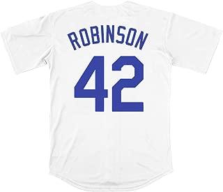 Robinson #42 Brooklyn Baseball Jersey Men Throwback Summer Christmas