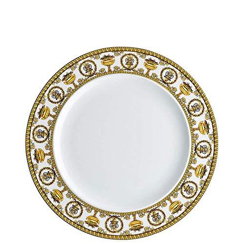 Versace Meets Rosenthal I Love Baroque - Juego de 2 platos llanos 27 cm blanco