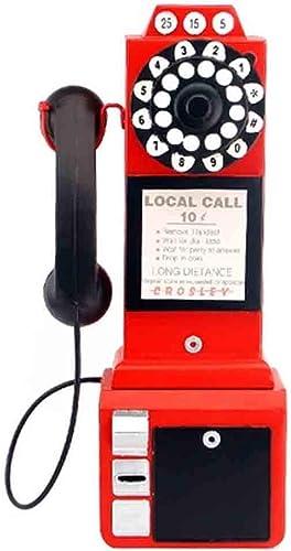 Venta barata LLJXC Manualidades - Decoración de la Sala - Decoración del del del hogar - Decoración de Regalos - Decoración de Juguetes por teléfono (Color   rojo, Talla   22  14  47cm)  calidad fantástica