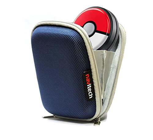 Navitech Blau Wasser Widerständige, kindersichere Festsmartwatch Fall für das Pokémon GO Plus