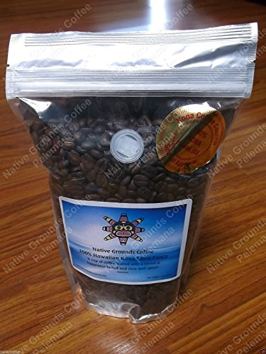1lb 100 Kona Coffee Whole Bean Extra Fancy NOT Dark Roast FRESH SIMPLY THE BEST