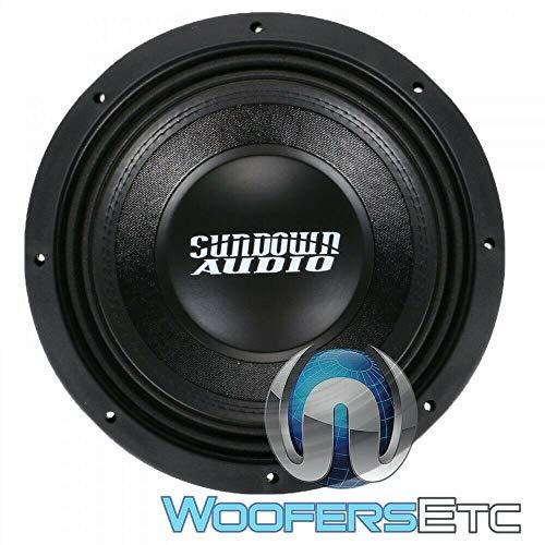 SUNDOWN AUDIO SD-4 10 D2 SUB 10' 600W RMS Dual 2-OHM SUBWOOFER BASS Speaker New