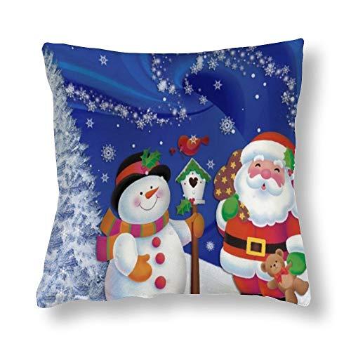 Funda de almohada navideña