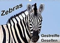 Zebras - Gestreifte Gesellen (Wandkalender 2022 DIN A3 quer): Wildlife-Fotografie im suedlichen und oestlichen Afrika (Monatskalender, 14 Seiten )