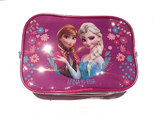 Trousse Pochette Rose Reine des Neiges Anna et Elsa