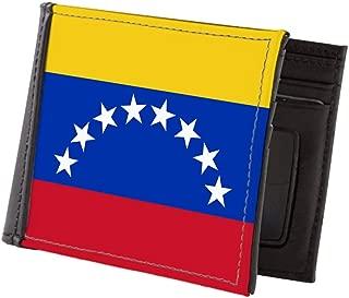 Flag Of Venezuela Mens Wallet, Bi-fold Wallet, Billfold Money Holder