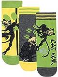 Miraculous - Chaussettes Pack de 3 - Cat Noir - Garçon - Multicolore - 27/30