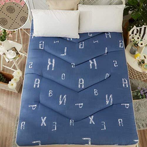 YLCJ Opvouwbare matras, opvouwbaar, matrasbeschermer, waterdicht, 180 x 200 cm, 71 x 79 cm