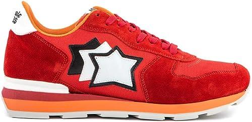 Atlantic Stars Stars Antares Fuoco Chaussures de Sport pour Homme Rouge  100% garantie d'ajustement