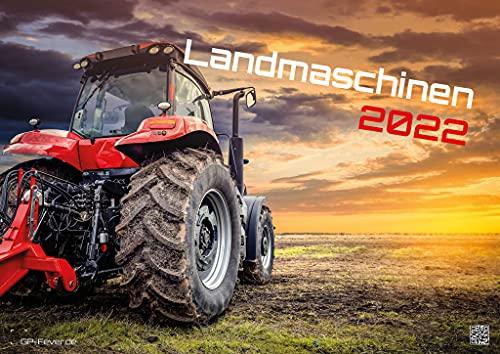 Maquinaria agrícola - Tractor - 2022 - Calendario DIN A2