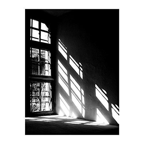 "PU Ran Moderne Wanddekoration ""Let the Light In"", Poster auf Leinwand, ungerahmt, canvas, 2#, 50 x 70 cm"