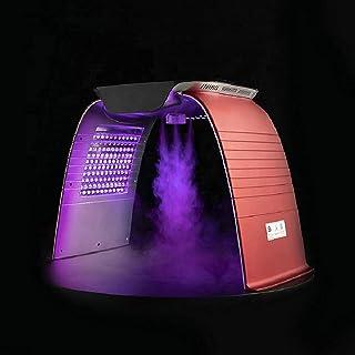7 kleuren LED-therapielicht Met warme en koude spray, Huidverzorging Schoonheid Machine Gezichtsstomers SPA PDT-therapie I...