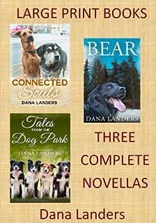 Large Print Books: 3 Complete Novellas: Large Type Books for Seniors