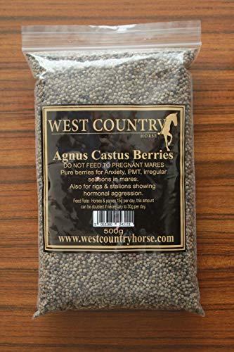 West Country Horse Agnus Castus Berries for horses, Cushings, Laminitis, EMS, Hormones, PMT Seasons