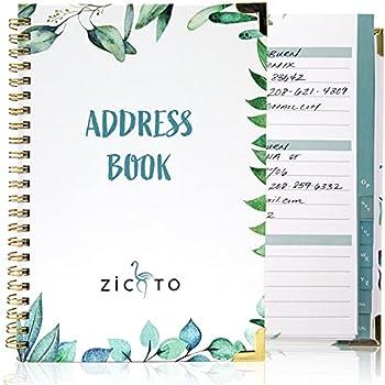 Best spiral bound address book Reviews