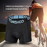 Zoom IMG-1 tomshoo pantaloncini ciclismo imbottito mutande
