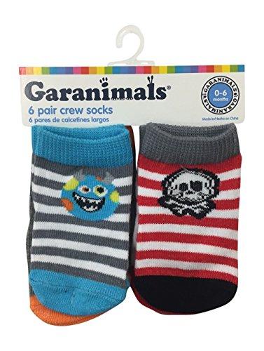Garanimals  Calcetines para niños de 0 a 6 meses