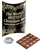 World's Hottest Chocolate Bar: Super spicy chocolate made with 9 million SHU. From Vat19.