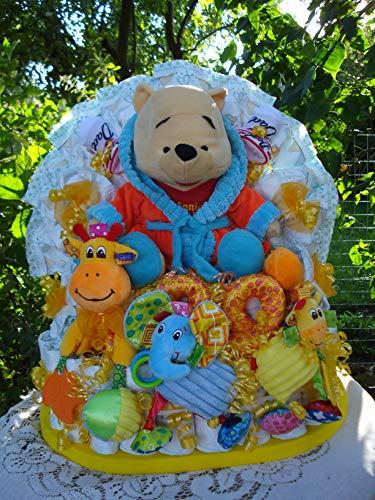 """XL Windeltorte""""Alles Winnie Pooh"""",Geburt,Taufe,Hochzeit"""