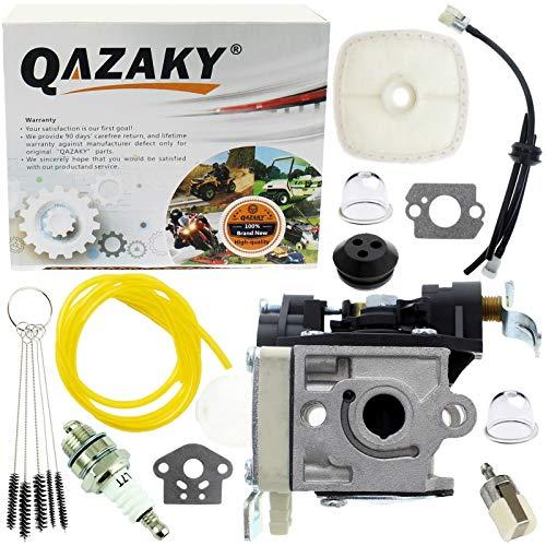 QAZAKY vergaser mit Kraftstoff-Filter pflegeset zündkerze für zama rb-k90 Echo pb-251 pb-255 pb-255ln es-255 a021001591 a021001592 a021001593 stromgebläse