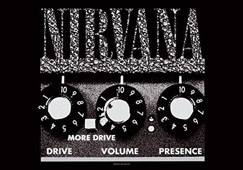 empireposter Nirvana Amp Poster 110 x 75 cm