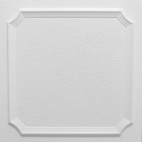 Pannelli Soffitto in Polistirolo Laminato Morka Bianco (Pacco 44 pz / 11 mq)