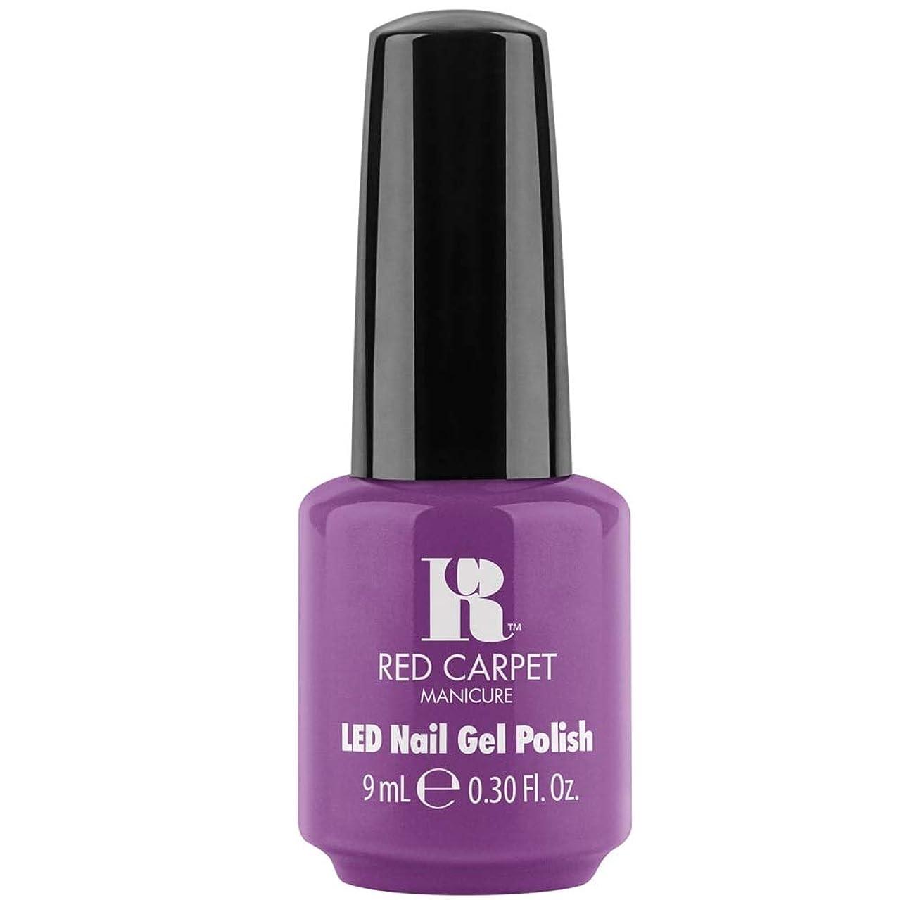 ギャング強調するバリケードRed Carpet Manicure - LED Nail Gel Polish - Losing my Vanity - 0.3oz / 9ml