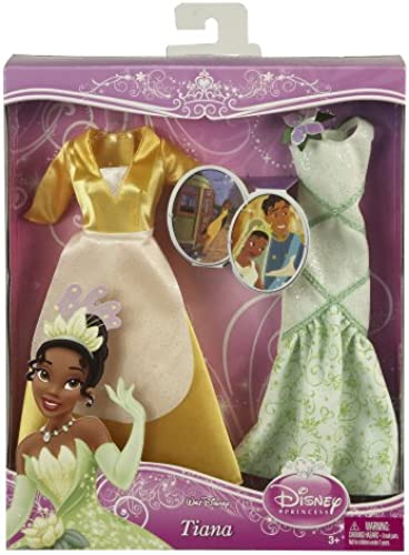 Disney Mattel V8791 Puppe und Cuddle Prinzessin Tiana
