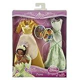 Disney Mattel–V8791–Puppe und Cuddle Prinzessin–Tiana