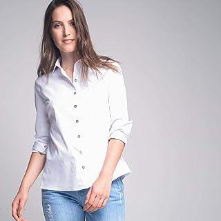Camisa Cori Tricoline Branco