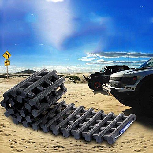 LPY-Tapis antidérapant de traction de pneu d'urgence Tapis pratique de traction d'hiver Grip durable de pneu, approprié à la voiture de déglaçage de neige, de glace et de boue