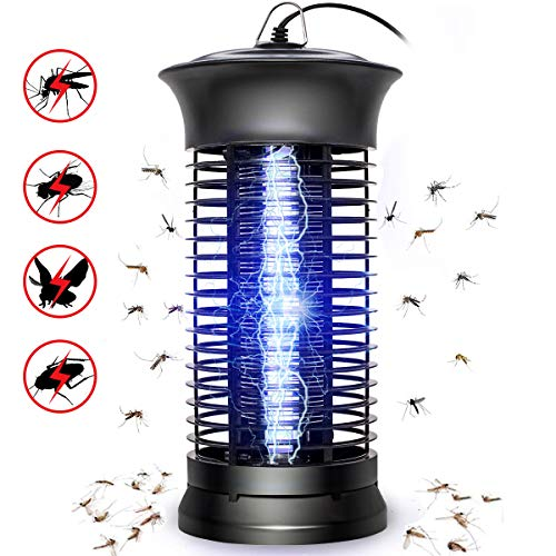 SHCAPENM Bug Zapper Mosquito Killer  Flying Insect Killer Indoor  Fly Traps Mosquito Lamp Insect Zappers Mosquito Attractant Trap with Hook for Indoor Patio Garden