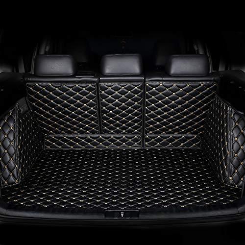 QOHFLD Kofferraummatte Benutzerdefiniert Kofferraumwanne Premium Antirutsch fahrzeugspezifisch, Für Audi Q7 4M 2016-2019