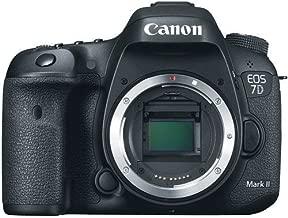 Canon EOS 7D Mark II DSLR Camera (Body) + 32GB Card + Camera CASE + Tripod - International Vesion (No Warranty)