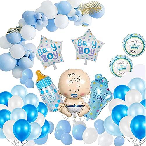 Baby Shower Dekoratione,Babyparty Deko Junge Oder Mädchen,Boy Or Girl Ballon,Geschlecht Offenbaren Ballon,Luftballons Mädchen Oder Jungen,Baby Folienballon für Mama zu Sein Gender Reveal Party
