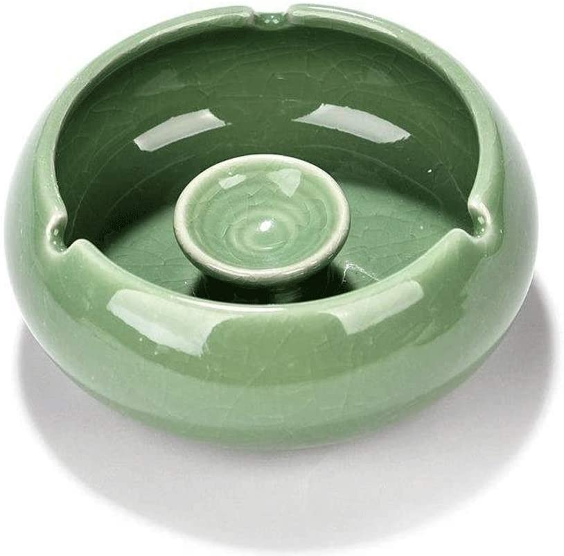 Ashtray Indoor for Inventory cleanup selling Safety and trust sale Cigarettes Ceramic Ash Indoo Tray
