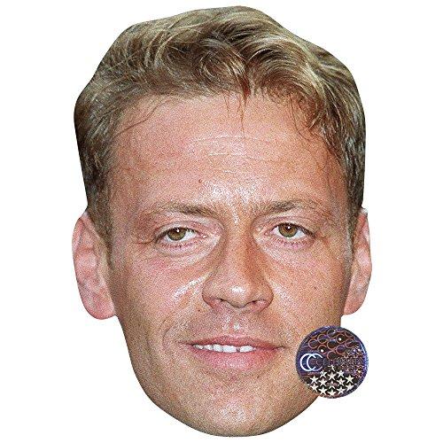Celebrity Cutouts Rocco Siffredi Maschere di Persone Famose, Facce di Cartone