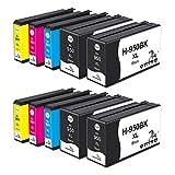ONINO 950XL 951XL Cartucce d'inchiostro Compatibile per HP Officejet Pro 8600 8610 8620 8630 8640 8100 8625 8615 8660 251dw 276dw (4 Nero,2 Ciano,2 Magenta,2 Giallo)