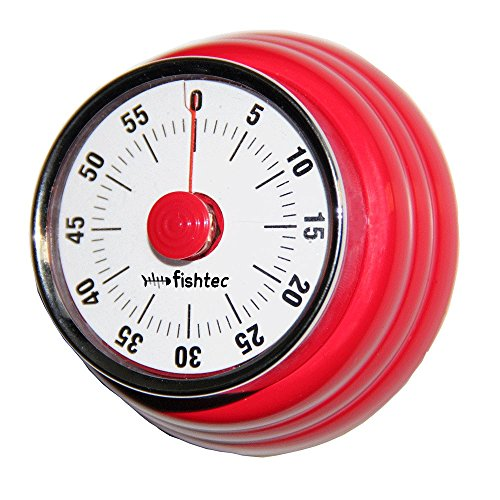 FISHTEC  Timer retro 50 's-Barra magnetica in acciaio inox